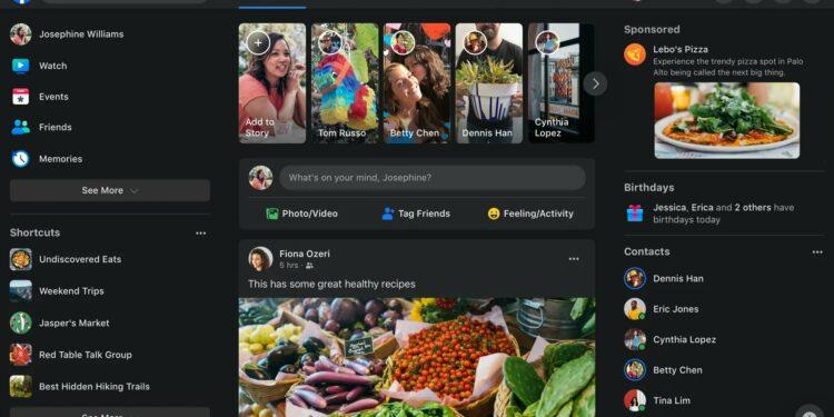 Facebook Redesign Goes LIVE for everyone – including dark mode