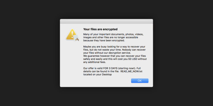 Ransomware named 'EvilQuest' target to attack MacOS users